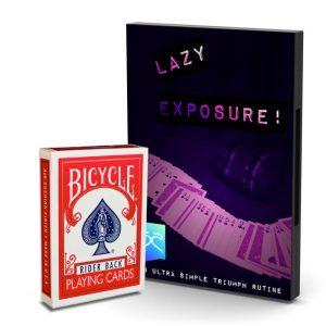 Lazy Exposure – Baraja y tutorial online