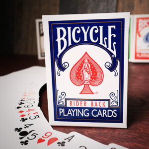 Bicycle Playing Cards Poker (Blue) – (Rider back)