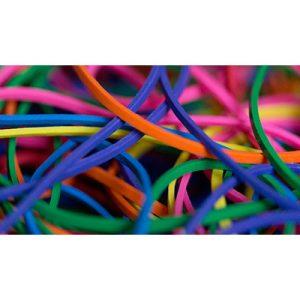 Ligas Rainbow Pack de 20 (colores variados) – Joe Rindfleisch