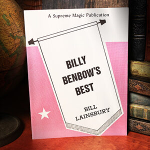 Billy Benbow's Best by Bill Lainsbury – libros