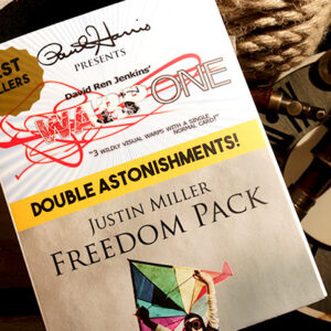 Paul Harris Presents Warp One/Freedom Pack Double Astonishments by Justin Miller & David Jenkins – Trick