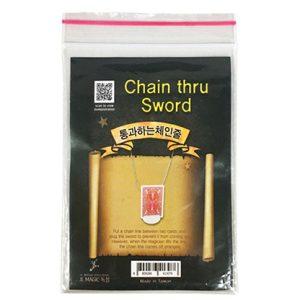 Chain Thru Sword by JL Magic – Trick