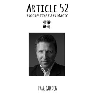 Article 52 by Paul Gordon – Book