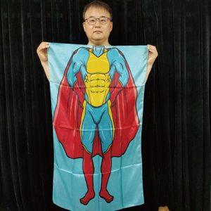 Character Silk (Super Boy) 35 X 43  by JL Magic – Trick