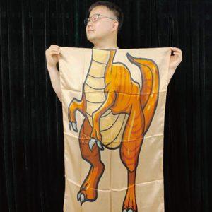 Character Silk (Dinosaur) 35 X 43  by JL Magic – Trick