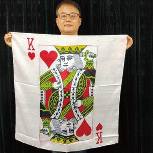 King Card Silk 36″ by JL Magic – Trick