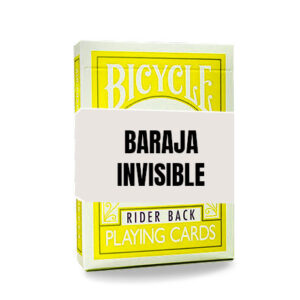 Baraja Invisible – Amarilla