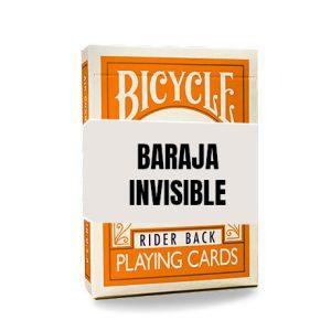 Baraja Invisible – Anaranjada