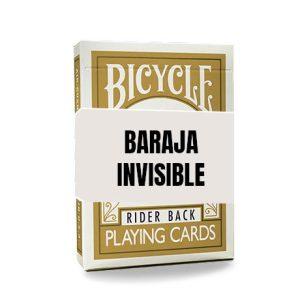 Baraja Invisible – Dorada