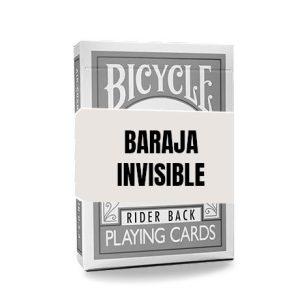 Baraja Invisible – Plateada