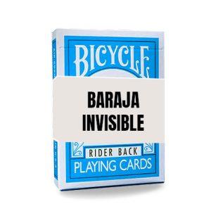 Baraja Invisible – Turquesa