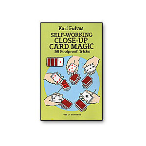 Self Working Close-Up Card Magic by Karl Fulves – Book
