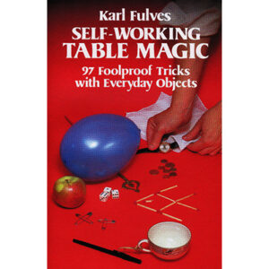 Self Working Table Magic by Karl Fulves – Book