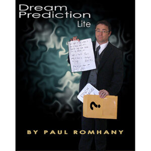 Dream Prediction Lite (Book, DVD, Props) by Paul Romhany – DVD