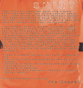 Holey Shirt by Joe Russell – DVD