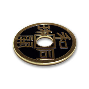 Chinese Coin (Black – Ike Dollar Size) by Royal Magic