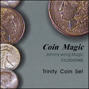 Trinity Coin Set (with DVD) by Johnny Wong – Trick