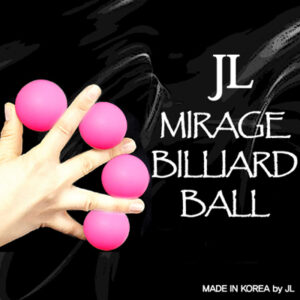 Mirage Billiard Balls by JL (PINK, 3 Balls and Shell) – Trick