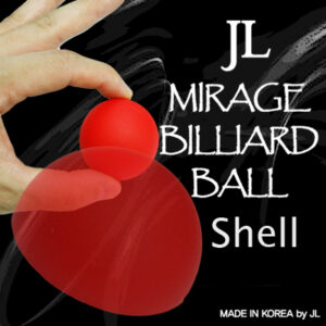 Mirage Billiard Balls by JL (RED, shell only) – Trick