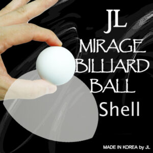 Mirage Billiard Balls by JL (WHITE, shell only) – Trick
