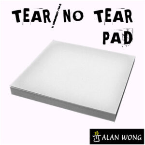 No Tear Pad (Small, 3.5 X 3.5, Tear/No Tear Alternating) by Alan Wong – Trick