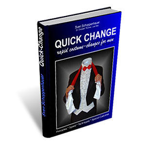 Quick Change Book (For Men) by Lex Schoppi – Book
