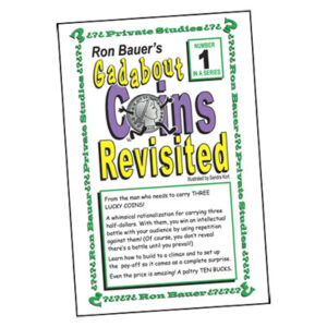 Ron Bauer Series: #1 – Gadabout Coins Revisited – Book