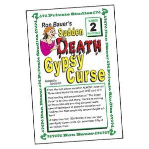 Ron Bauer Series: #2 – Sudden Death Gypsy Curse – Book
