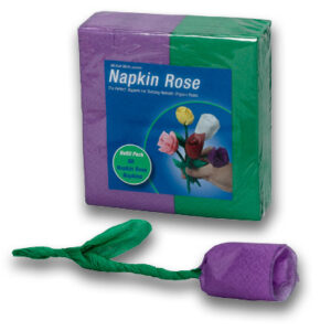 Napkin Rose – Refill (Purple) by Michael Mode – Trick