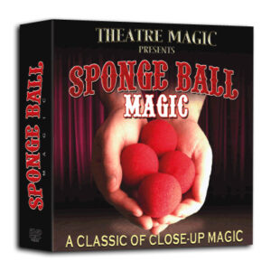 Sponge Ball Magic (DVD and Gimmick) by Theatre Magic – Trick