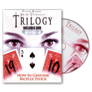 Trilogy Bicycles by Brian Caswells and Alakazam Magic – Tricks