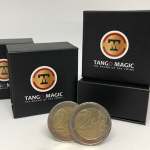 Tango Ultimate Coin (T.U.C.)(E0081)2 Euros with instructional by Tango – Trick