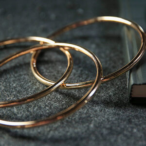 4″ Linking Rings (Gold) by TCC – Trick