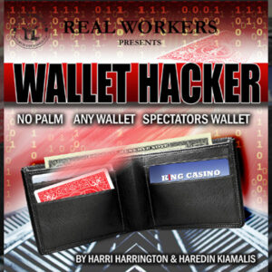 Wallet Hacker RED (Gimmicks and Online Instruction) by Joel Dickinson – Trick