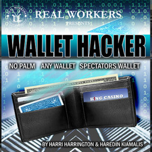 Wallet Hacker BLUE (Gimmicks and Online Instruction) by Joel Dickinson – Trick