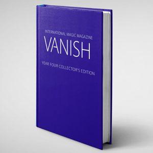 VANISH MAGIC MAGAZINE Collectors Edition Year Four (Hardcover) by Vanish Magazine – Book