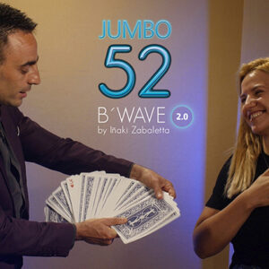 52 B Wave Jumbo 2.0 (Gimmicks and Online Instructions) by Vernet Magic – Trick