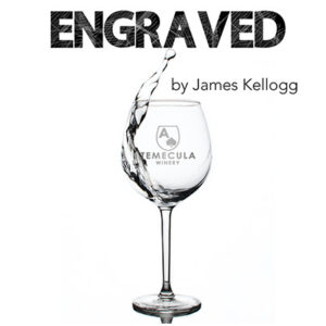 Engraved (Mason Jar KS Gimmick and Online Instructions) by James Kellogg  – Trick