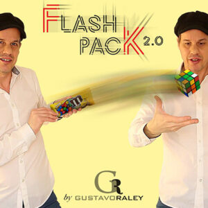 FLASH PACK 2.0 (Gimmicks and Online Instructions) by Gustavo Raley – Trick
