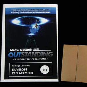 OUTSTANDING Refill Envelope by Marc Oberon – Trick