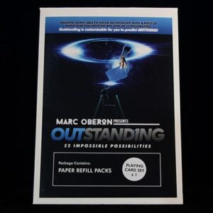 OUTSTANDING Refill Cards by Marc Oberon – Trick