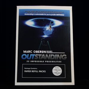 OUTSTANDING Refill Cards (Blank) by Marc Oberon – Trick