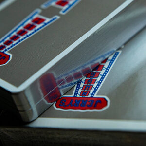 Gilded Vintage Feel Jerry's Nuggets (Steel) Playing Cards