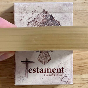 Gilded Testament Playing Cards