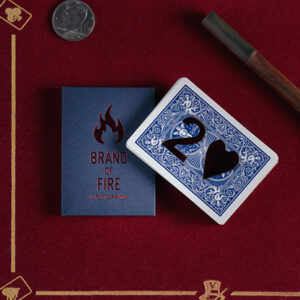 BRAND OF FIRE / BLUE(Gimmicks and Online Instructions) by Federico Poeymiro – Trick