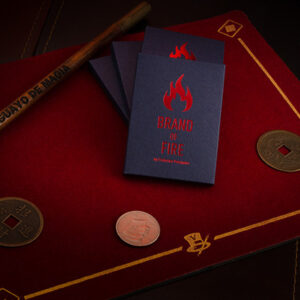 BRAND OF FIRE / RED (Gimmicks and Online Instructions) by Federico Poeymiro – Trick