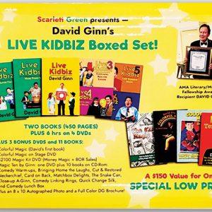 LIVE KIDBIZ BOXED SET by David Ginn – Book