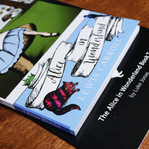 The Alice In Wonderland Book Test (Limited 250) by Luke Jonas with Olnas Magic  – Trick