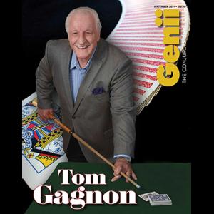 "Genii Magazine ""Tom Gagnon"" September 2019 – Book"