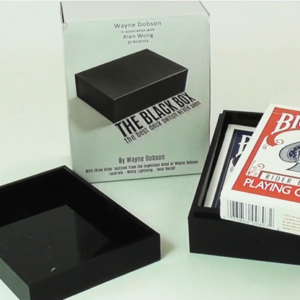The Black Box (Gimmick and Online Instructions) by Wayne Dobson and Alan Wong – Trick